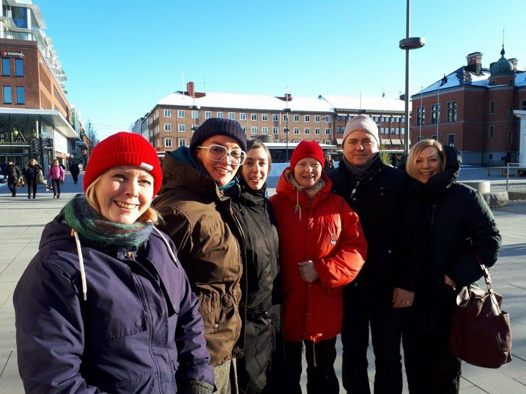 Arbetsgruppen för Scenkonstdagar 2018.
